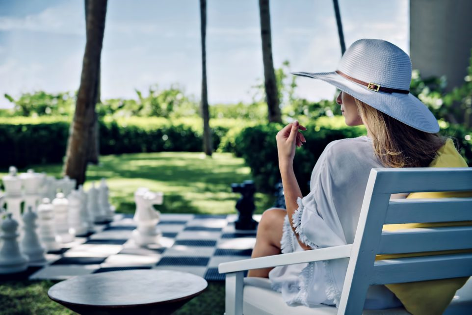 Cheval Blanc Randheli Luxury Resort - Noonu Atoll, Maldives - Lawn Chess