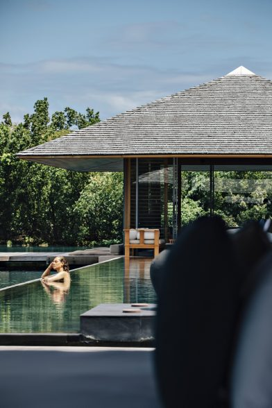 Amanyara Luxury Resort - Providenciales, Turks and Caicos Islands - Pool Relaxation