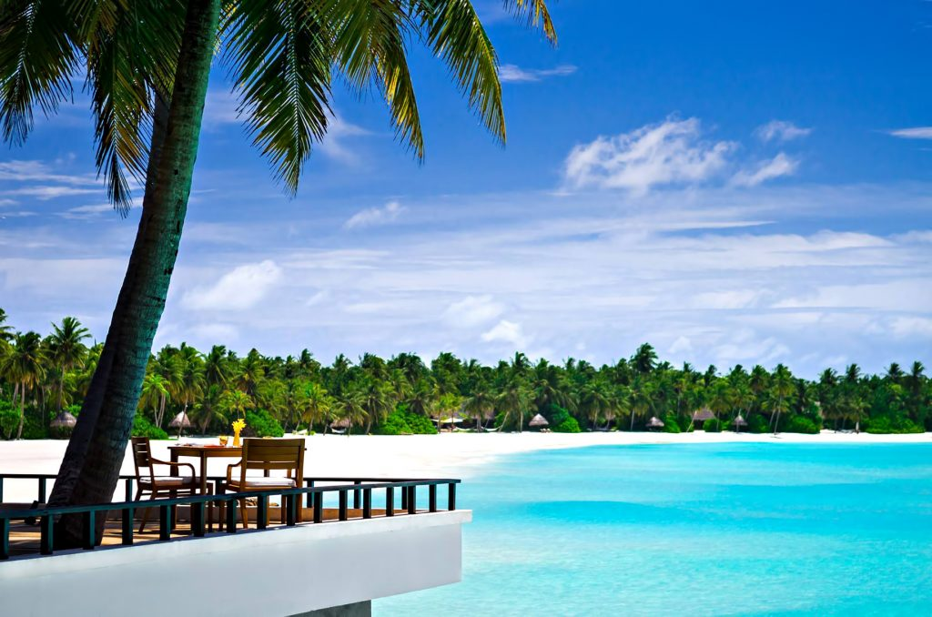 One&Only Reethi Rah Luxury Resort - North Male Atoll, Maldives - Overwater Terrace Dining