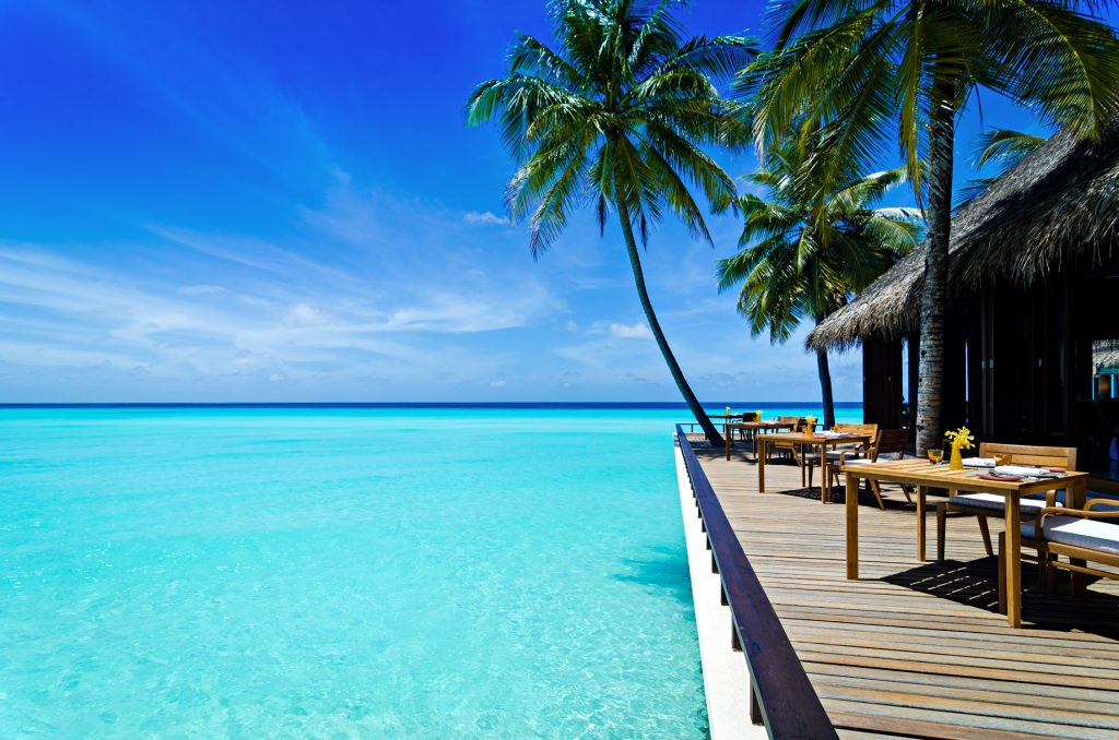 One&Only Reethi Rah Luxury Resort - North Male Atoll, Maldives - Overwater Reethi Restaurant Terrace
