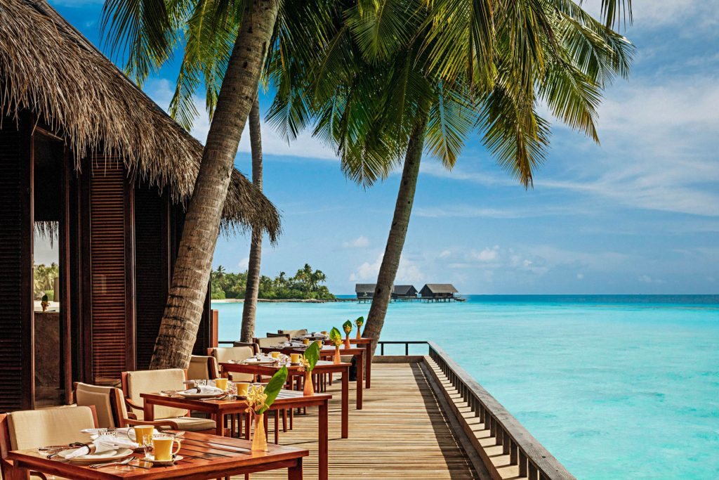 One&Only Reethi Rah Luxury Resort - North Male Atoll, Maldives - Reethi Restaurant Terrace