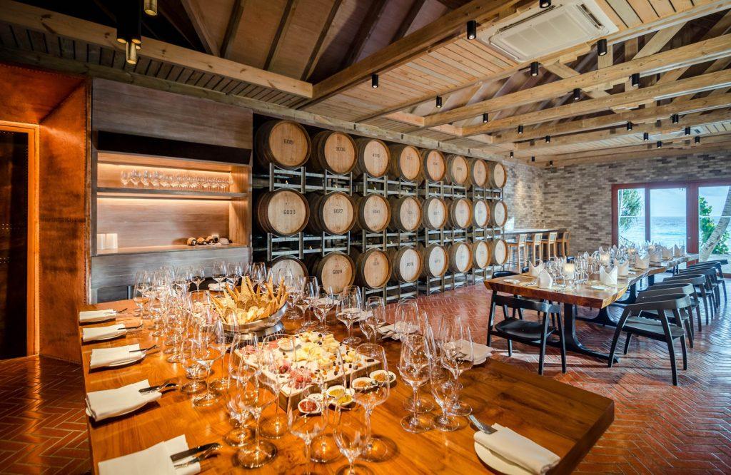 Amilla Fushi Luxury Resort and Residences - Baa Atoll, Maldives - Wine and Cheese Tasting