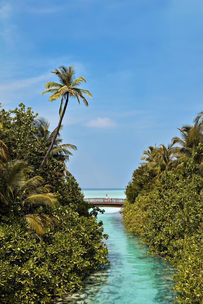 One&Only Reethi Rah Luxury Resort - North Male Atoll, Maldives - Resort Canal Bridge