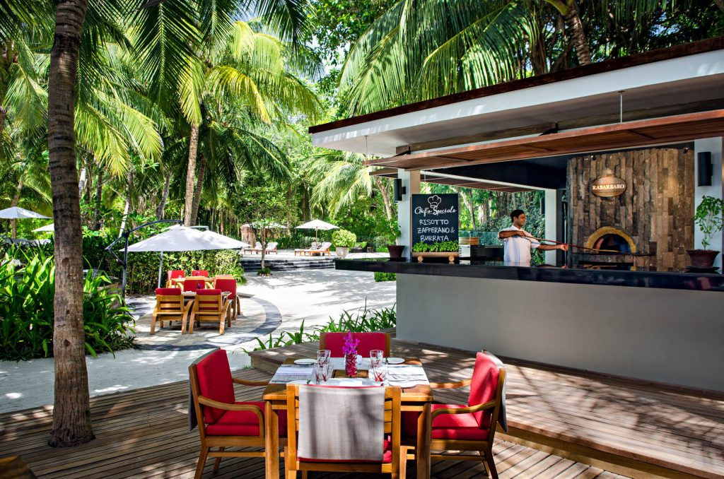 One&Only Reethi Rah Luxury Resort - North Male Atoll, Maldives - Rabarbaro Restaurant