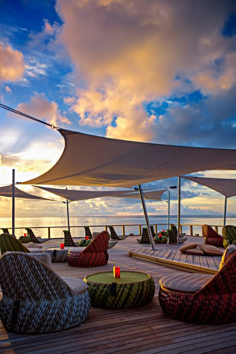 Velassaru Maldives Luxury Resort - South Male Atoll, Maldives - Chill Bar Sunset