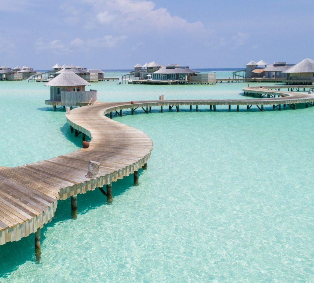 Soneva Jani Luxury Resort - Noonu Atoll, Medhufaru, Maldives - Jetty Overwater Boardwalk