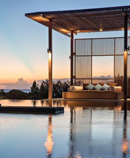 Amanyara Luxury Resort - Providenciales, Turks and Caicos Islands - Seaside Pool Lounge