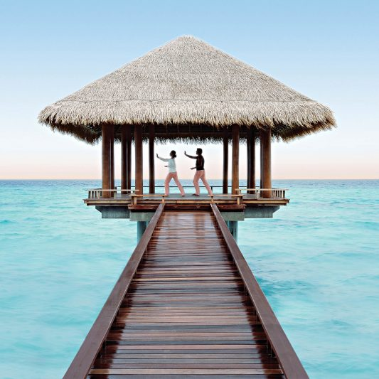 One&Only Reethi Rah Luxury Resort - North Male Atoll, Maldives - Overwater Yoga Deck