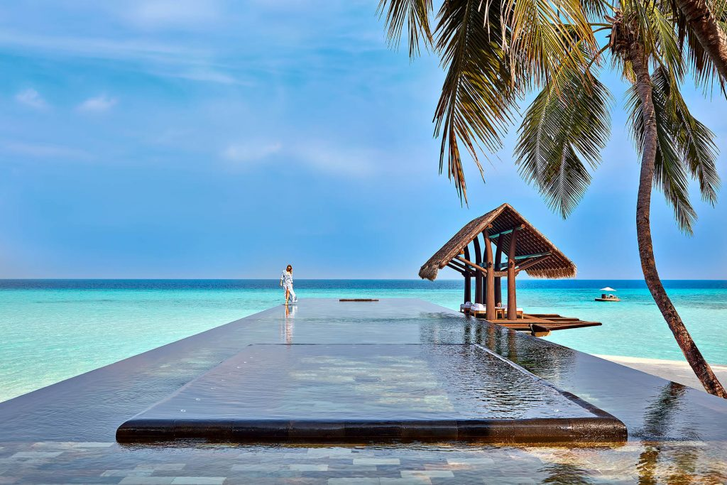 One&Only Reethi Rah Luxury Resort - North Male Atoll, Maldives - Overwater Lap Pool