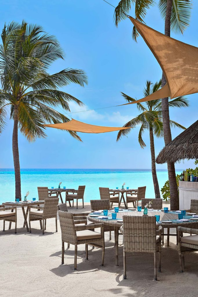 One&Only Reethi Rah Luxury Resort - North Male Atoll, Maldives - Beach Club Resturant