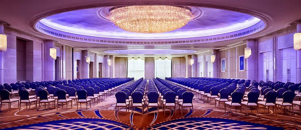 The St. Regis Abu Dhabi Luxury Hotel - Abu Dhabi, United Arab Emirates - Al Mudhaif Ballroom Theatre
