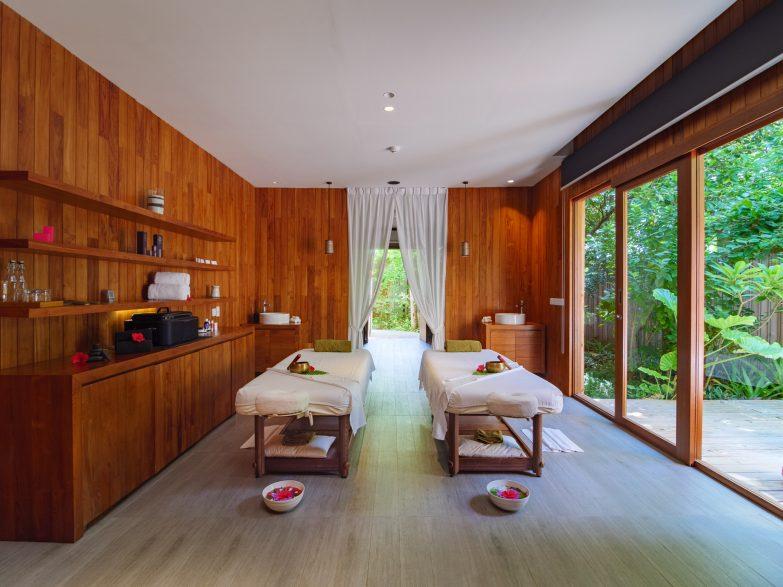 Amilla Fushi Luxury Resort and Residences - Baa Atoll, Maldives - Javvu Spa Treatment Room Tables