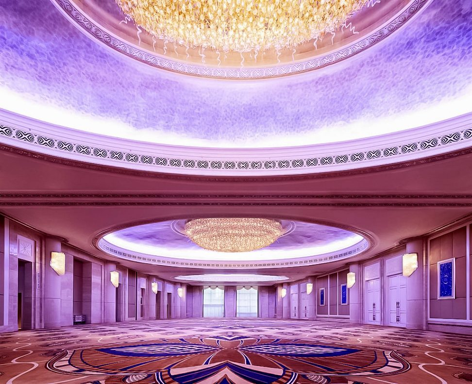 The St. Regis Abu Dhabi Luxury Hotel - Abu Dhabi, United Arab Emirates - Al Mudhaif Ballroom