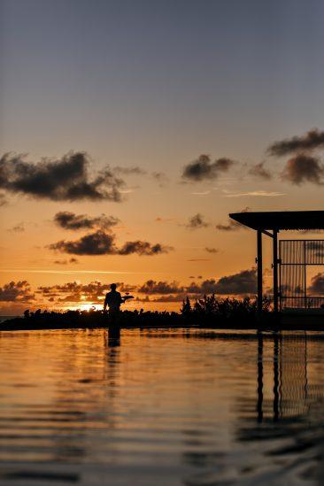 Amanyara Luxury Resort - Providenciales, Turks and Caicos Islands - Sunset Bar Service