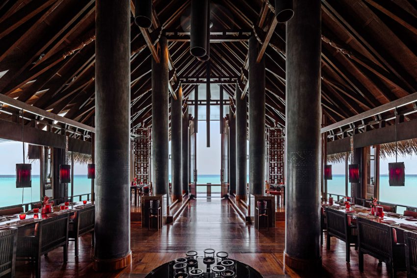 One&Only Reethi Rah Luxury Resort - North Male Atoll, Maldives - Fire Resturant