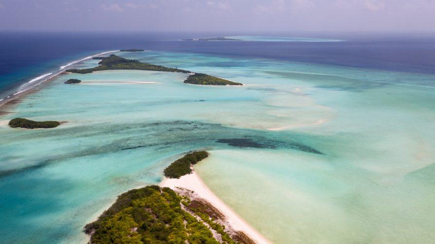 Soneva Jani Luxury Resort - Noonu Atoll, Medhufaru, Maldives - Tropical Private Island Aerial