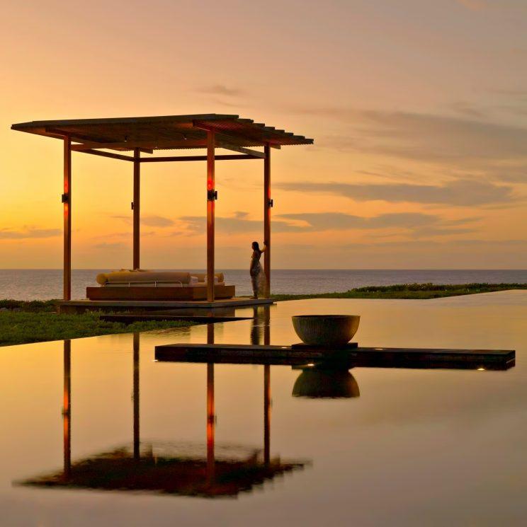 Amanyara Luxury Resort - Providenciales, Turks and Caicos Islands - Sunset Pool Lounge