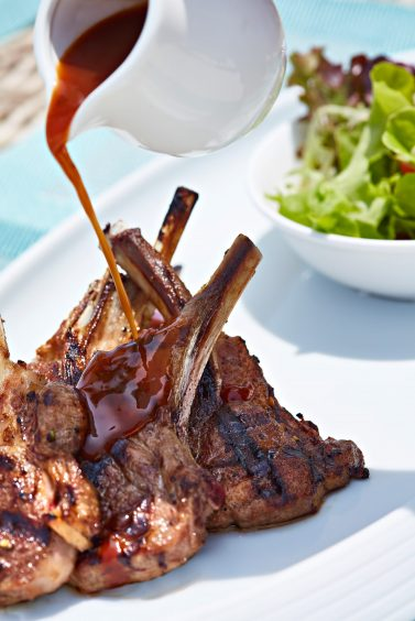 One&Only Reethi Rah Luxury Resort - North Male Atoll, Maldives - International Cuisine Lamb Chops