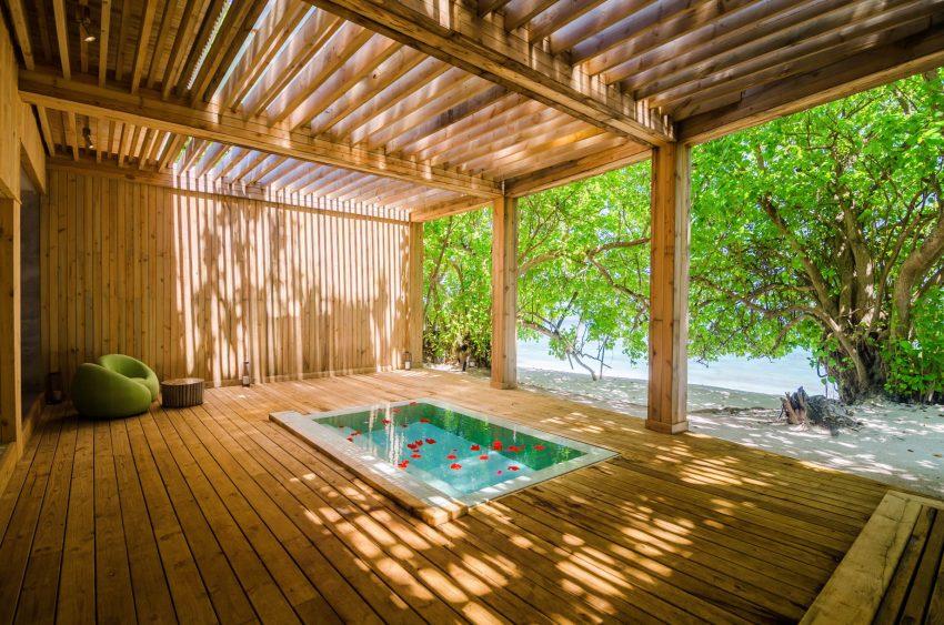 Amilla Fushi Luxury Resort and Residences - Baa Atoll, Maldives - Javvu Spa Wellness Deck