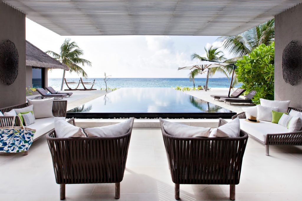 Cheval Blanc Randheli Luxury Resort - Noonu Atoll, Maldives - Private Island Beachfront Infinity Pool