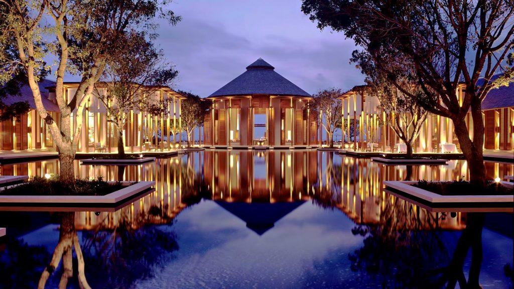 Amanyara Luxury Resort - Providenciales, Turks and Caicos Islands - Reflecting Pool Sunset