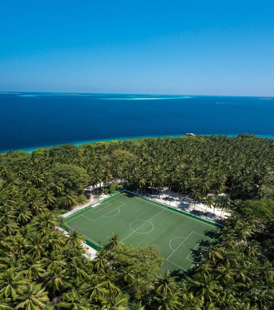 Amilla Fushi Luxury Resort and Residences - Baa Atoll, Maldives - Football