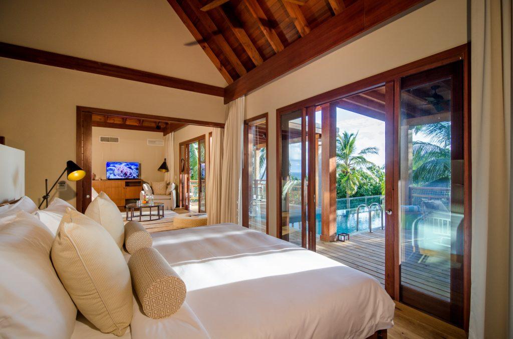 Amilla Fushi Luxury Resort and Residences - Baa Atoll, Maldives - Treetop Pool Villa Living Area