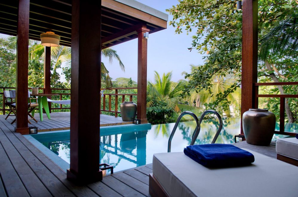 Amilla Fushi Luxury Resort and Residences - Baa Atoll, Maldives - Treetop Pool Villa Deck