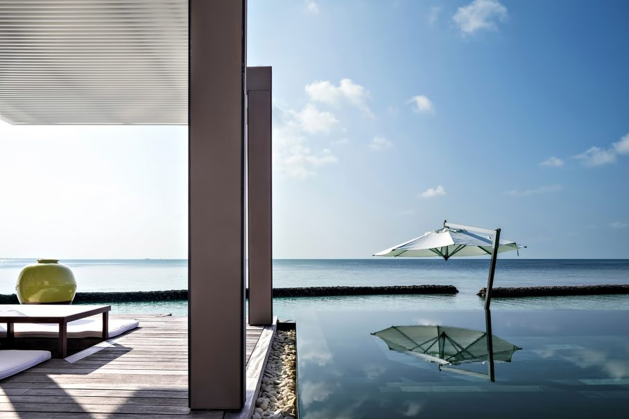 Cheval Blanc Randheli Luxury Resort - Noonu Atoll, Maldives - Oceanfront Villa Infinity Pool Deck