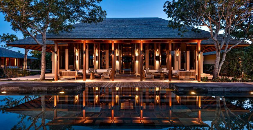 Amanyara Luxury Resort - Providenciales, Turks and Caicos Islands - Resort Sunset