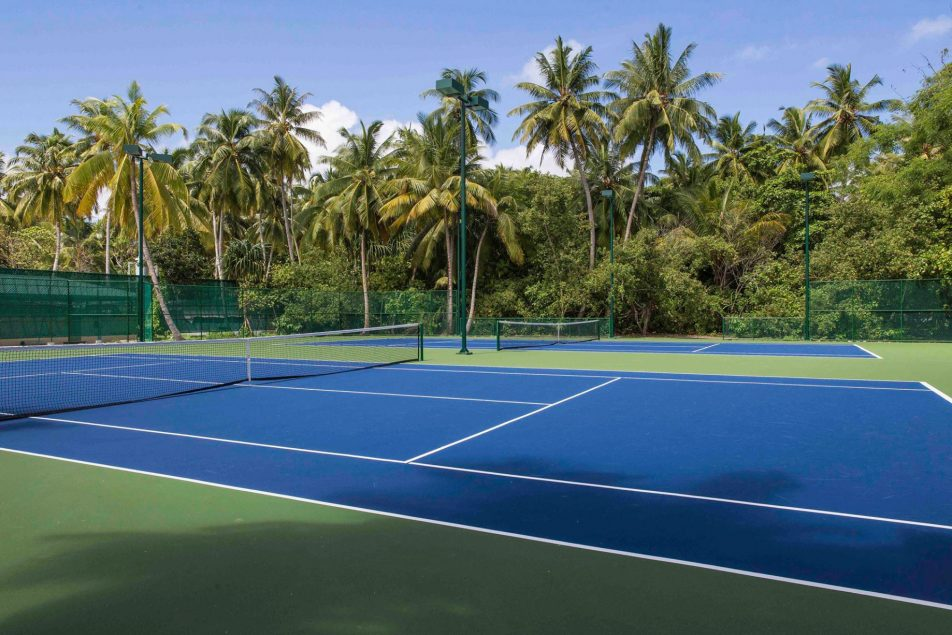 Amilla Fushi Luxury Resort and Residences - Baa Atoll, Maldives - Tennis Courts