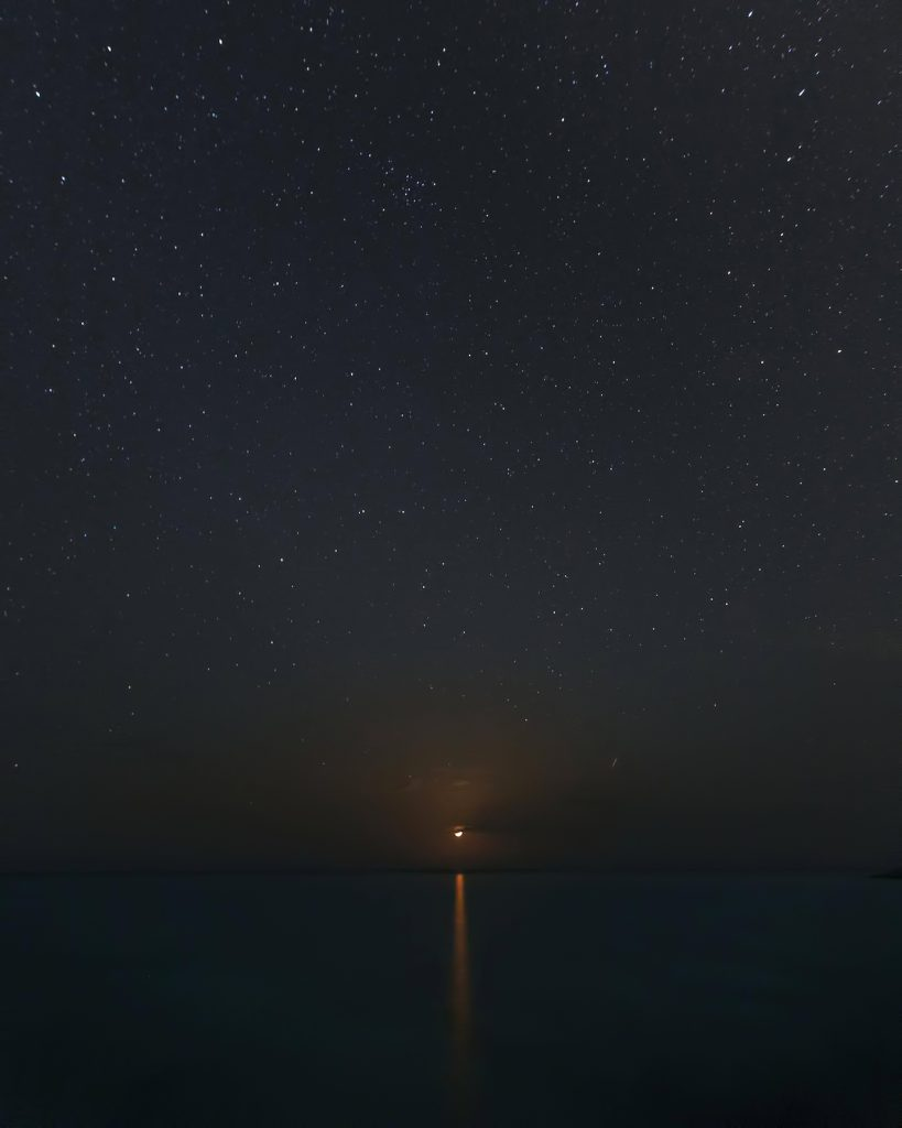 Amanyara Luxury Resort - Providenciales, Turks and Caicos Islands - Ocean View Night Stars