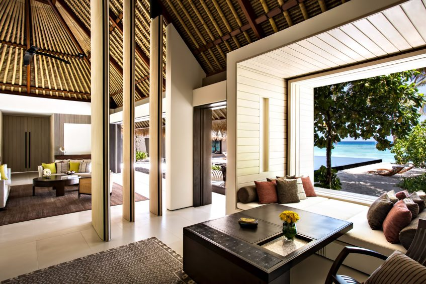 Cheval Blanc Randheli Luxury Resort - Noonu Atoll, Maldives - Island Villa Living Room