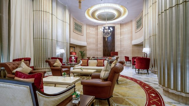 The St. Regis Abu Dhabi Luxury Hotel - Abu Dhabi, United Arab Emirates - Grand Lounge