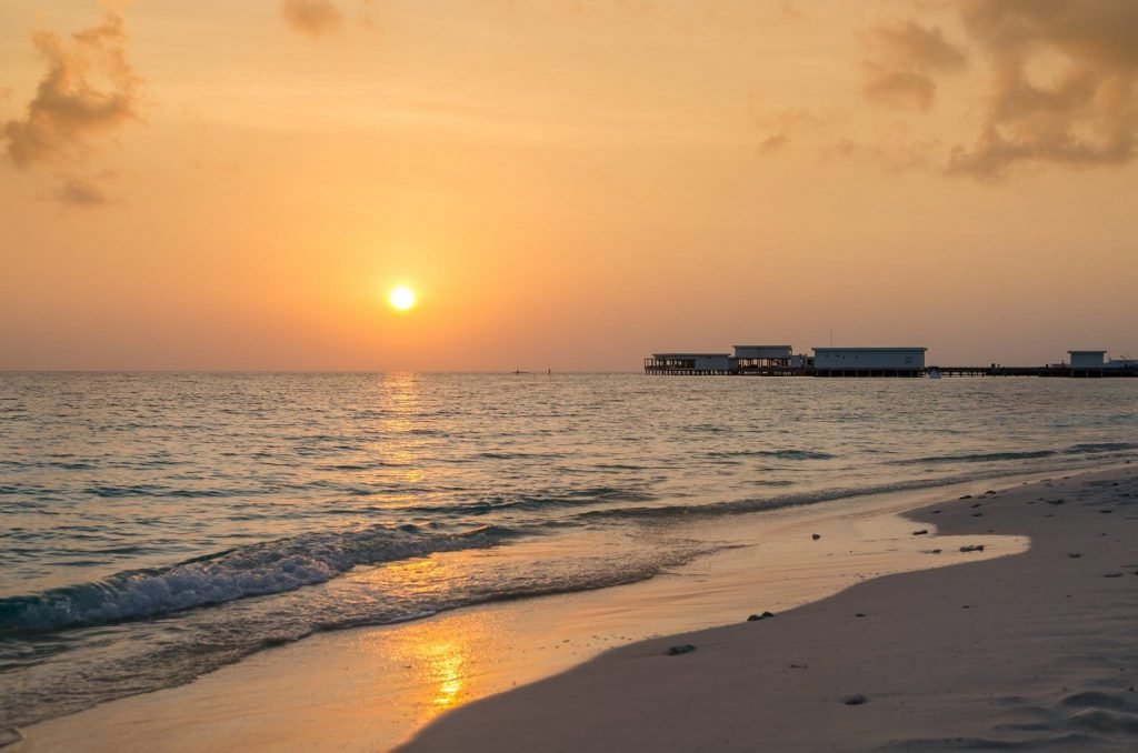 Amilla Fushi Luxury Resort and Residences - Baa Atoll, Maldives - Ocean View Sunset