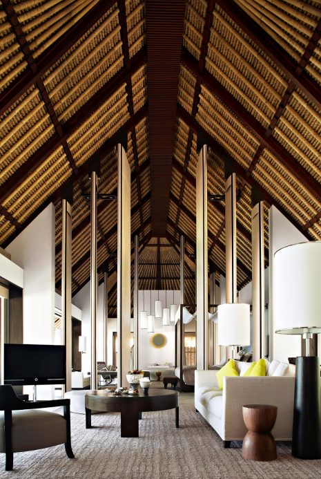 Cheval Blanc Randheli Luxury Resort - Noonu Atoll, Maldives - Private Villa Living Room
