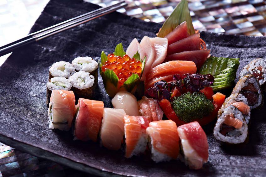 One&Only Reethi Rah Luxury Resort - North Male Atoll, Maldives - Tapasake Sushi Plate