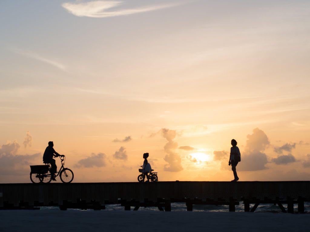 Soneva Jani Luxury Resort - Noonu Atoll, Medhufaru, Maldives - Overwater Boardwalk Sunset
