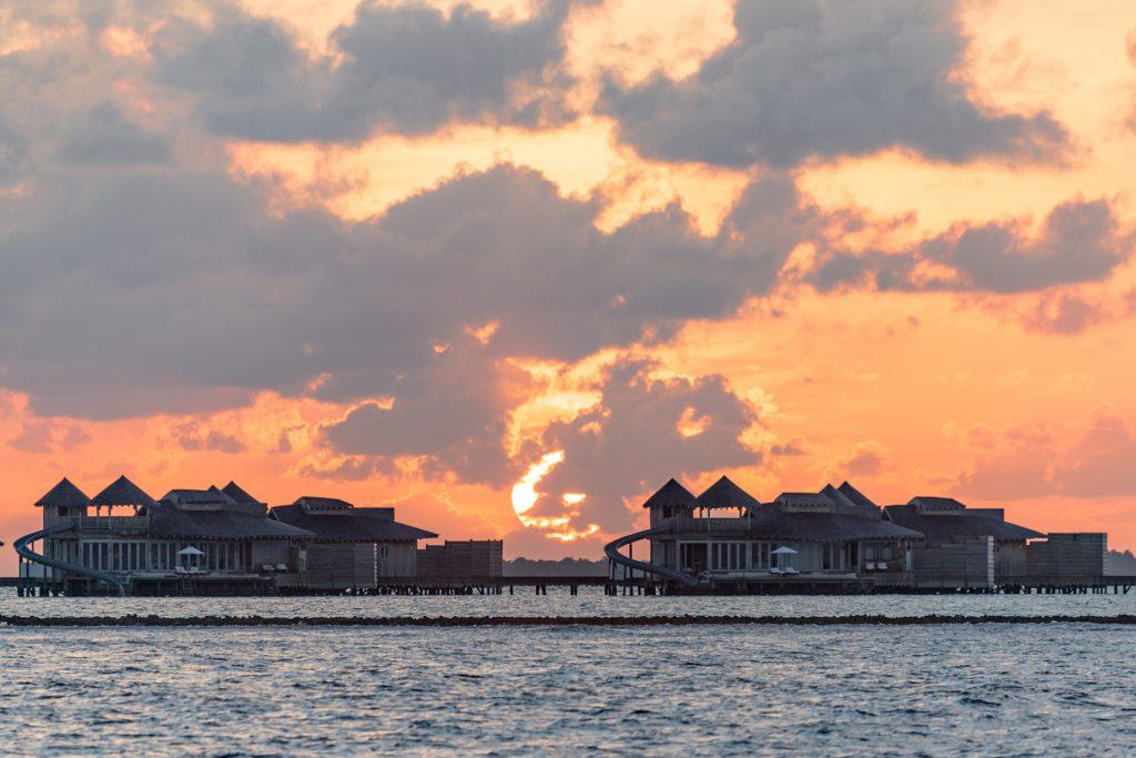 Soneva Jani Luxury Resort - Noonu Atoll, Medhufaru, Maldives - Overwater Villas Sunset