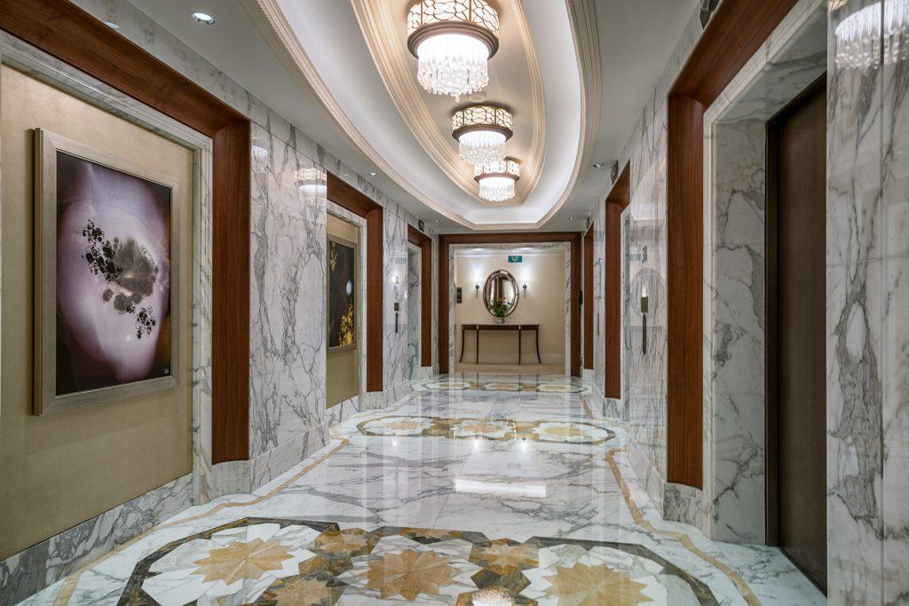 The St. Regis Abu Dhabi Luxury Hotel - Abu Dhabi, United Arab Emirates - Elevators