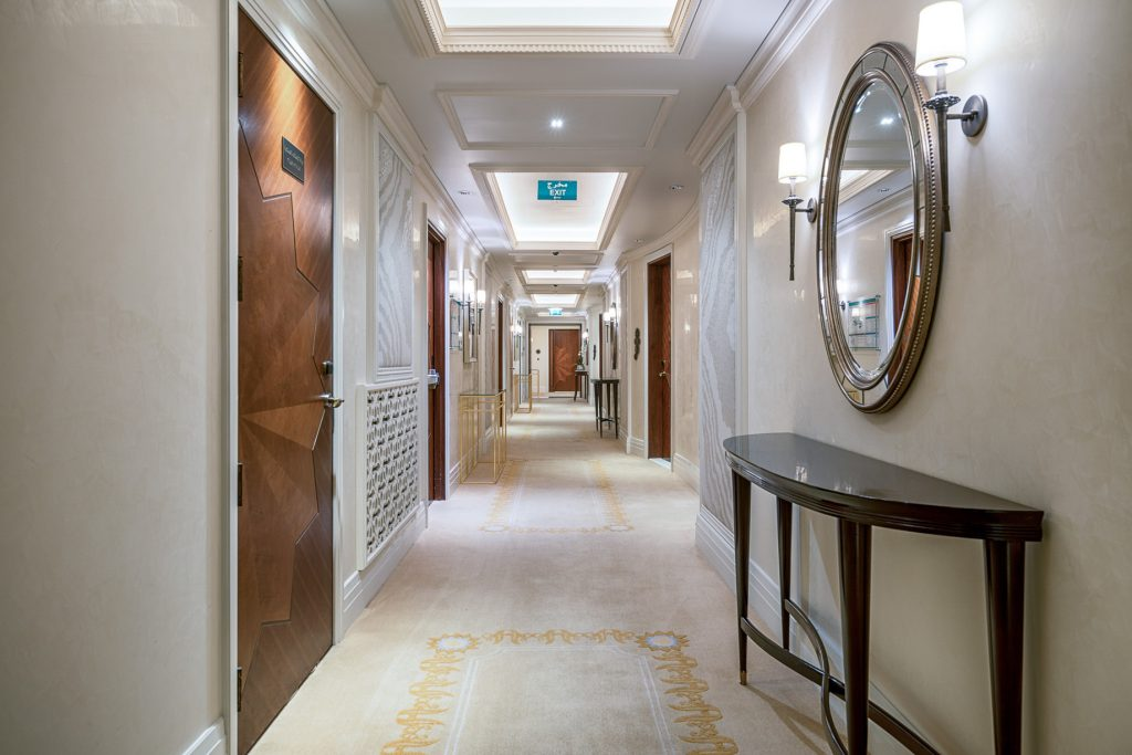 The St. Regis Abu Dhabi Luxury Hotel - Abu Dhabi, United Arab Emirates - Hallway