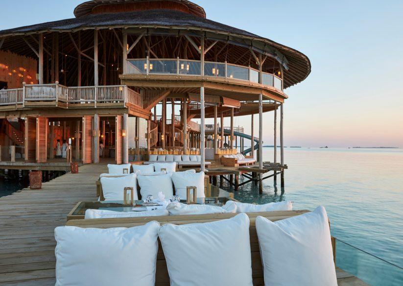Soneva Jani Luxury Resort - Noonu Atoll, Medhufaru, Maldives - The Gathering Sunset