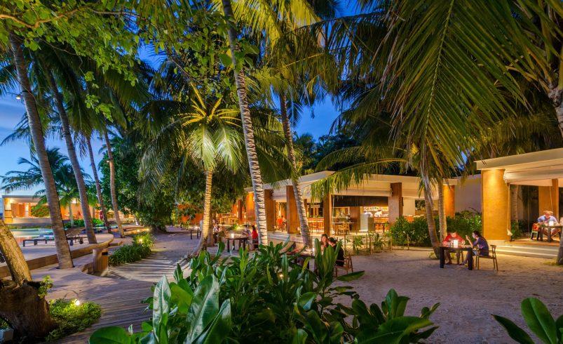 Amilla Fushi Luxury Resort and Residences - Baa Atoll, Maldives - Baazaar Dining Night
