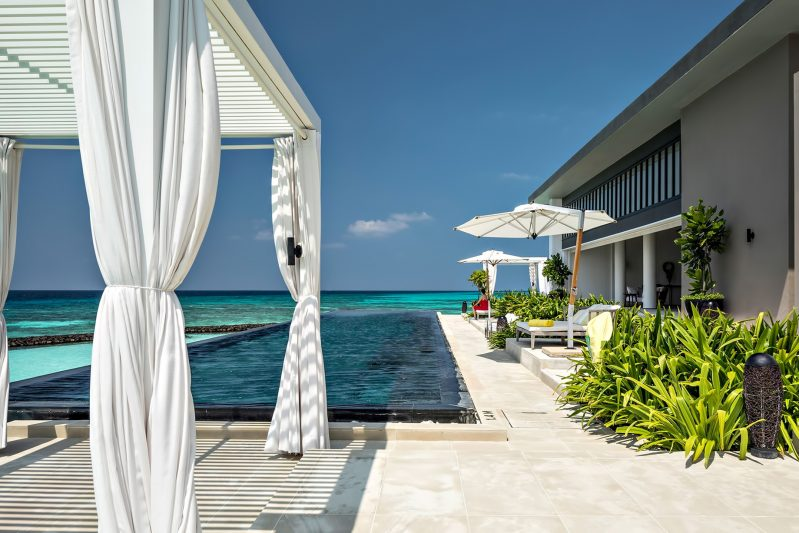 Cheval Blanc Randheli Luxury Resort - Noonu Atoll, Maldives - Private Island Oceanfront Infinity Pool