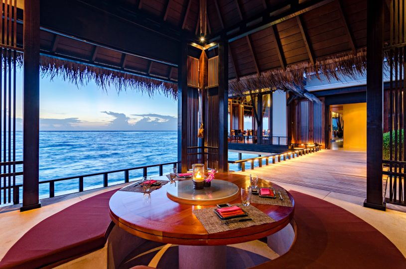 One&Only Reethi Rah Luxury Resort - North Male Atoll, Maldives - Tapasake Restaurant Overwater Pavilion