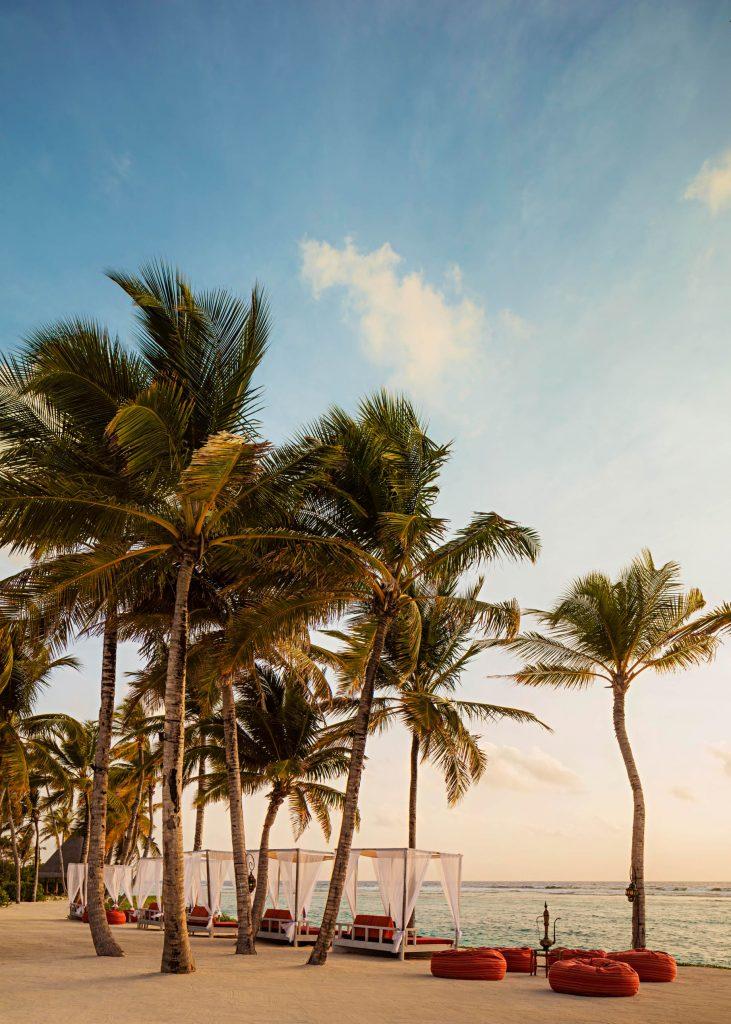 One&Only Reethi Rah Luxury Resort - North Male Atoll, Maldives - Fangitha Beach Cabanas Twilight