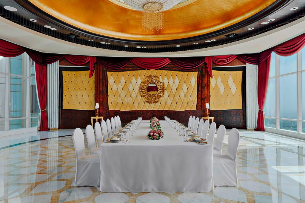 The St. Regis Abu Dhabi Luxury Hotel - Abu Dhabi, United Arab Emirates - Abu Dhabi Suite Private Banquet