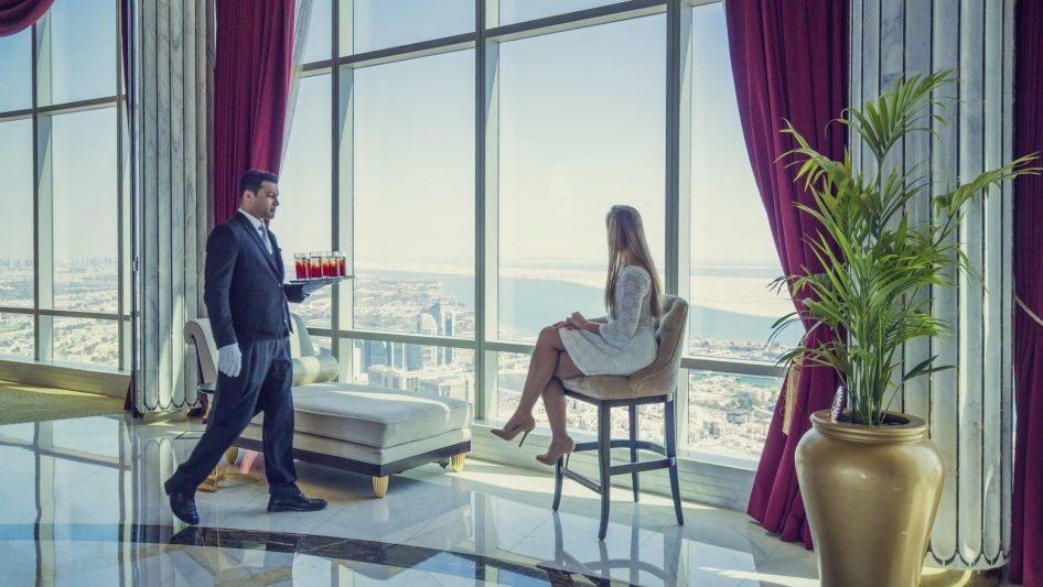 The St. Regis Abu Dhabi Luxury Hotel - Abu Dhabi, United Arab Emirates - Ultra Luxury Room Service