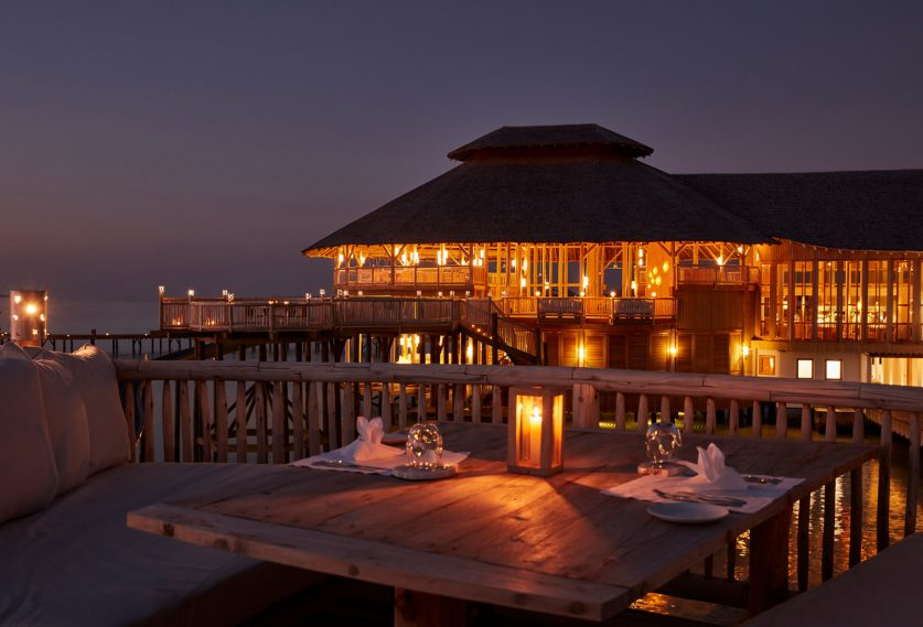 Soneva Jani Luxury Resort - Noonu Atoll, Medhufaru, Maldives - So Starstruck Overwater Dining Evening