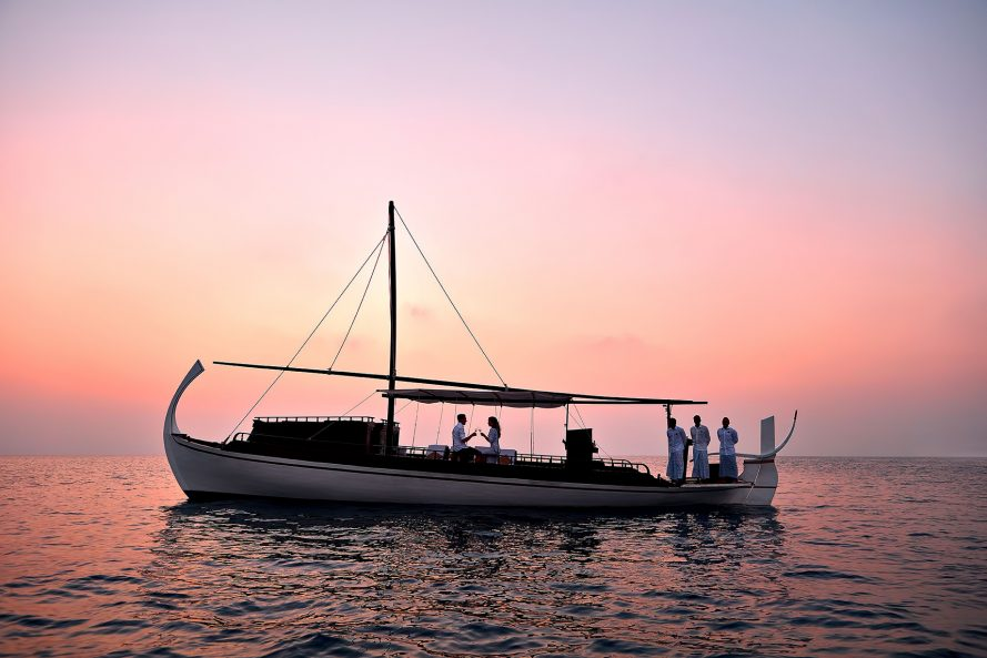 One&Only Reethi Rah Luxury Resort - North Male Atoll, Maldives - Traditional Sunset Boat Cruise
